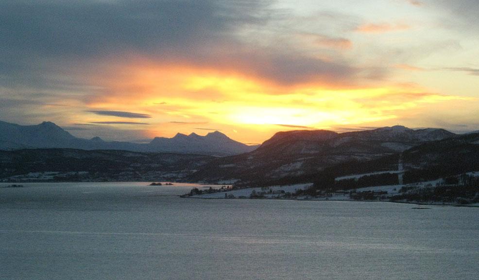 Norwegen Im November