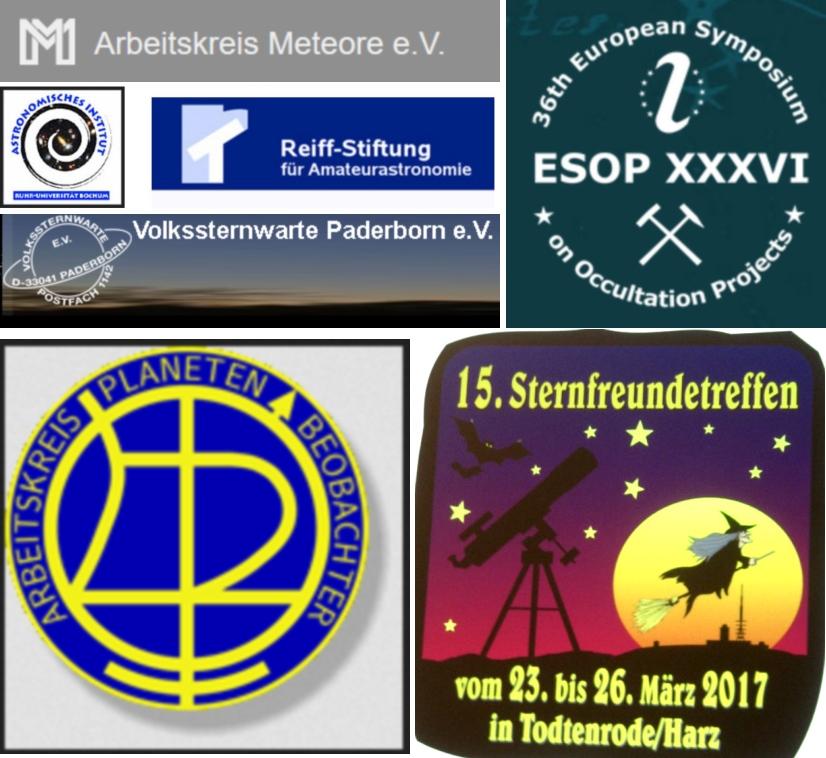 Astrotagungen 2017